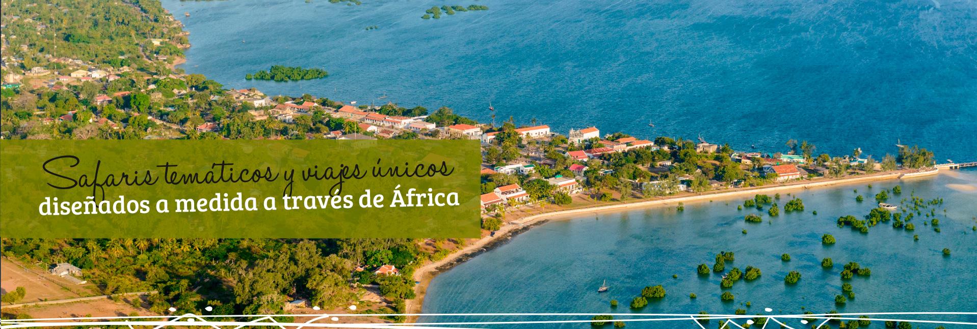 Safaris temáticos y viajes únicos diseñados a medida a través de África