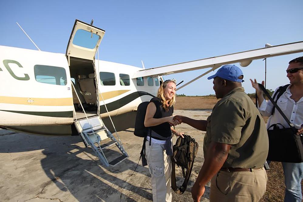 Itinerario. Mozambique. Día 1
