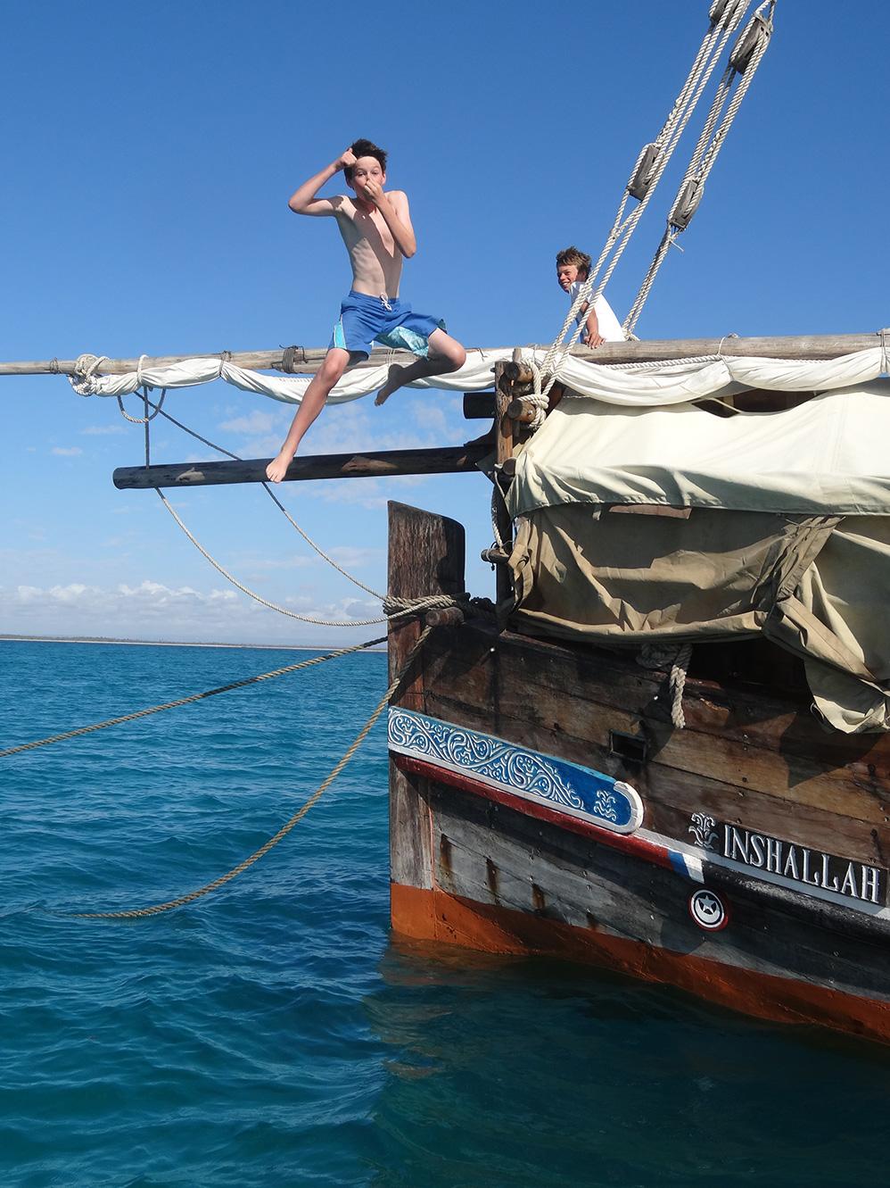 Itinerario. Mozambique. Día 2