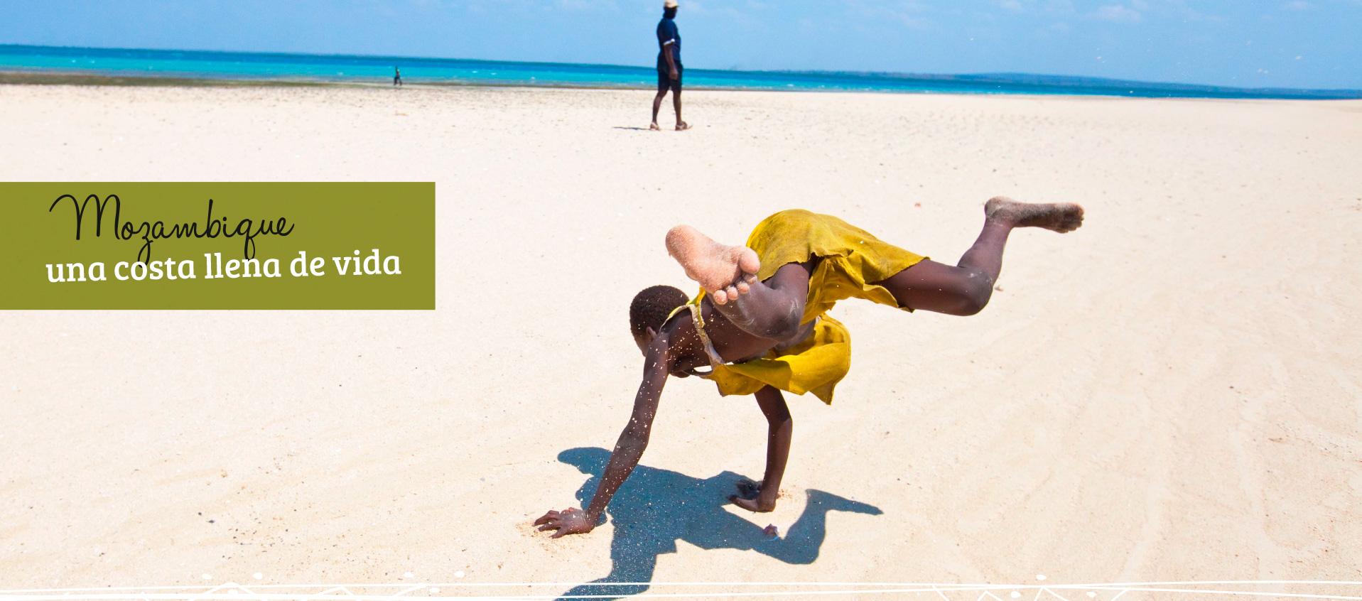 Mozambique, una costa llena de vida