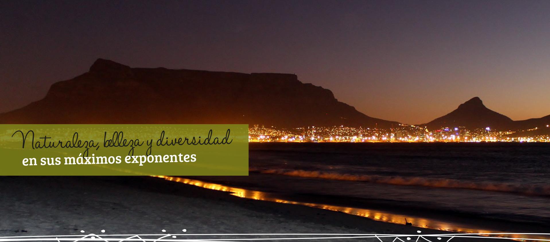 Sudáfrica, el país del arcoíris.