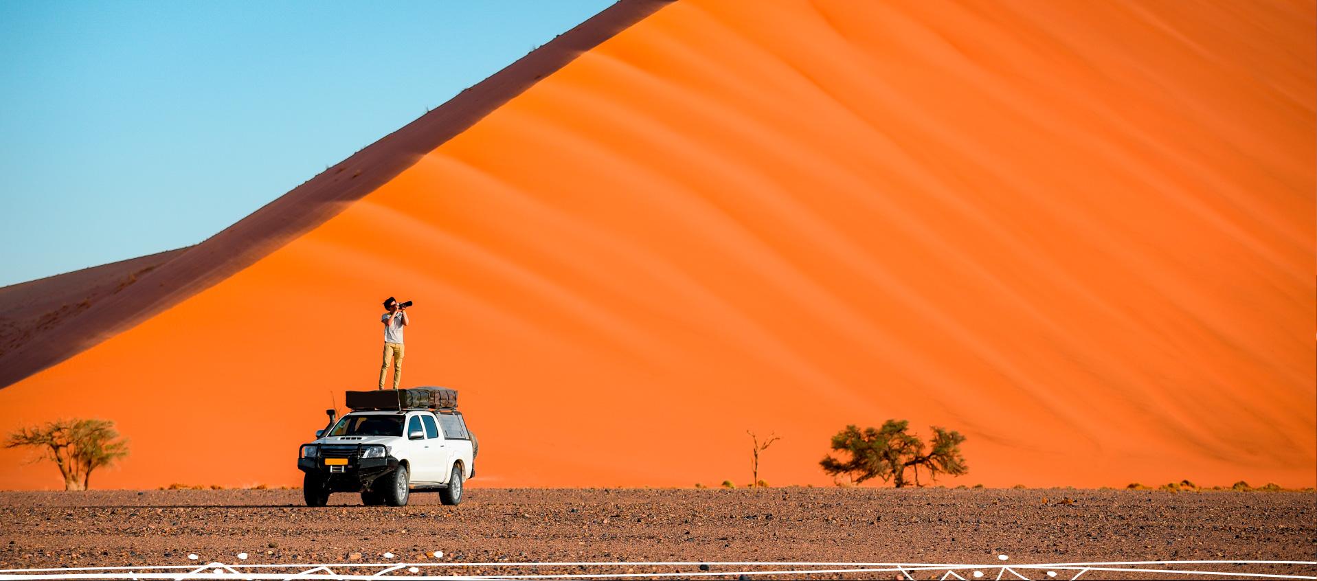 Safari a Namibia. Sawa Expeditions